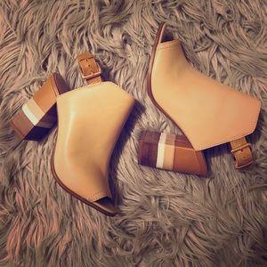 ALDO block heel mules